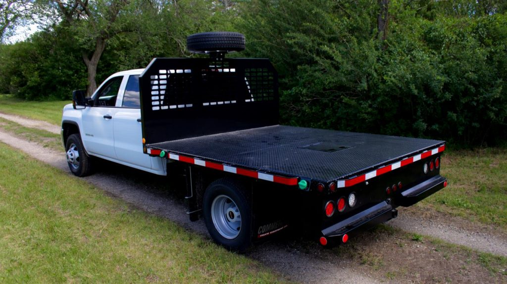 Custom 9′ Flat Deck on GMC 3500HD