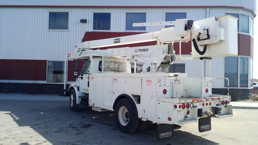 2011 Terex Hi-Ranger TC55 on 2011 International 4300 SBA