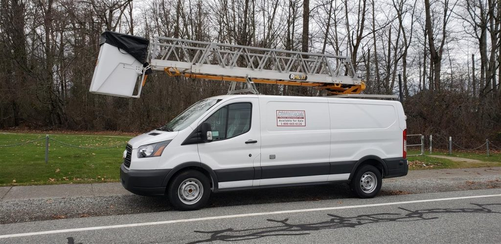 RHL37 Ladder (non-insulated) on Ford Transit