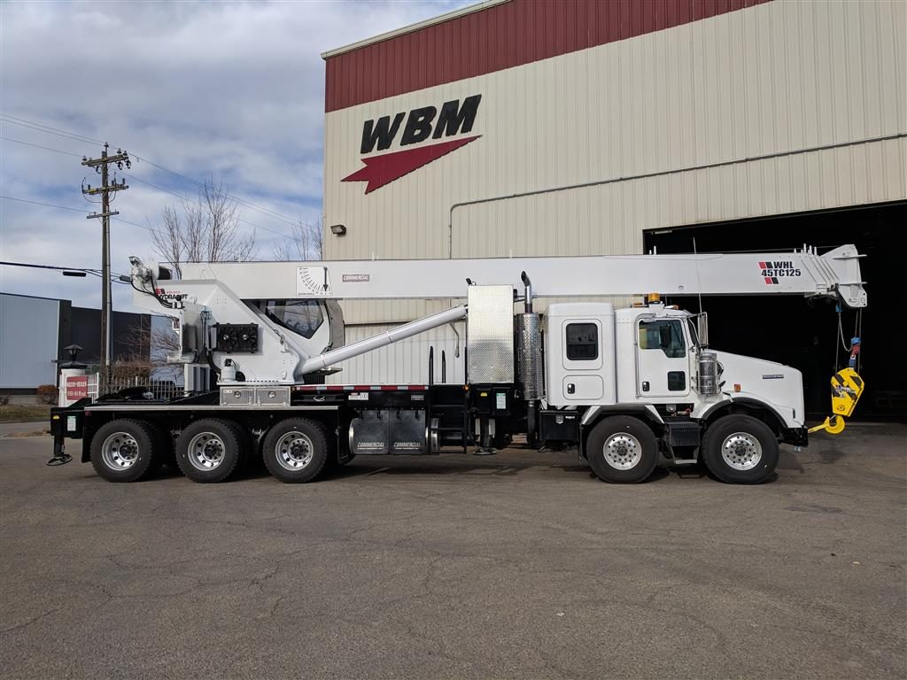 Weldco WHL45TC125 Crane on Kenworth T800