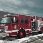 32359 Pierce Saber Top Mount Pumper (Medium)