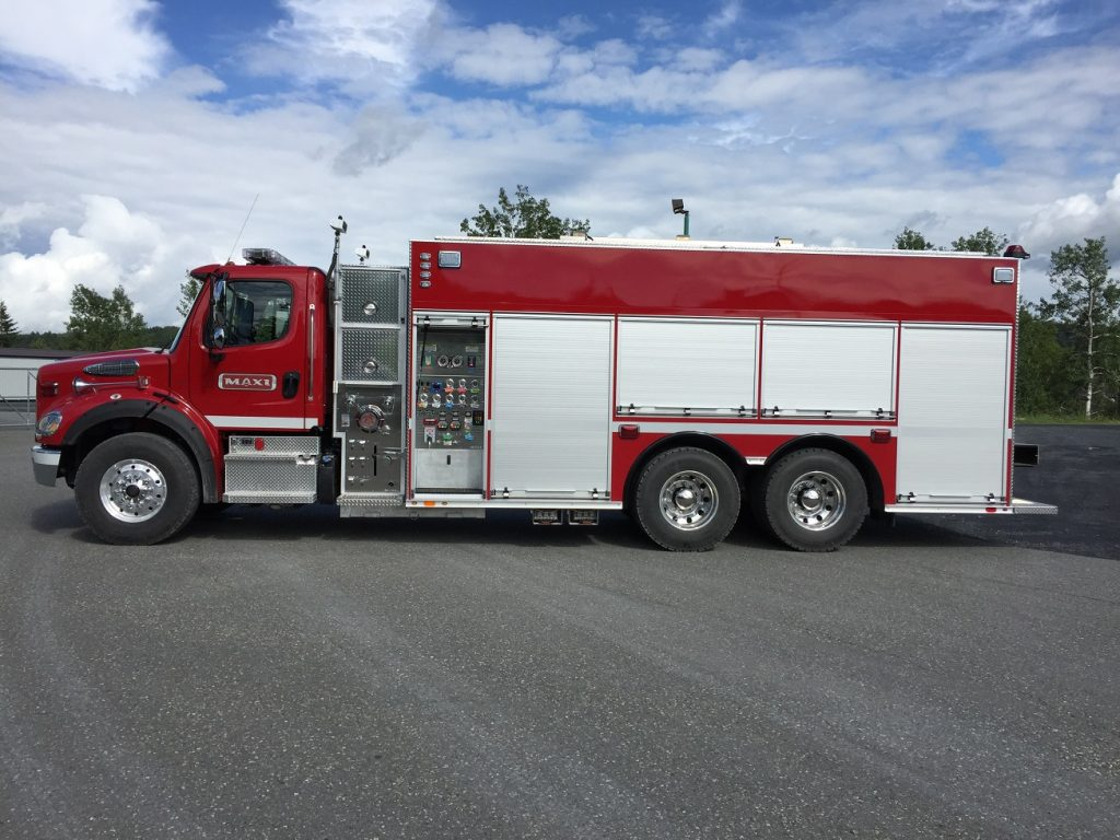 Pumper-Tanker on Freightliner M2-112