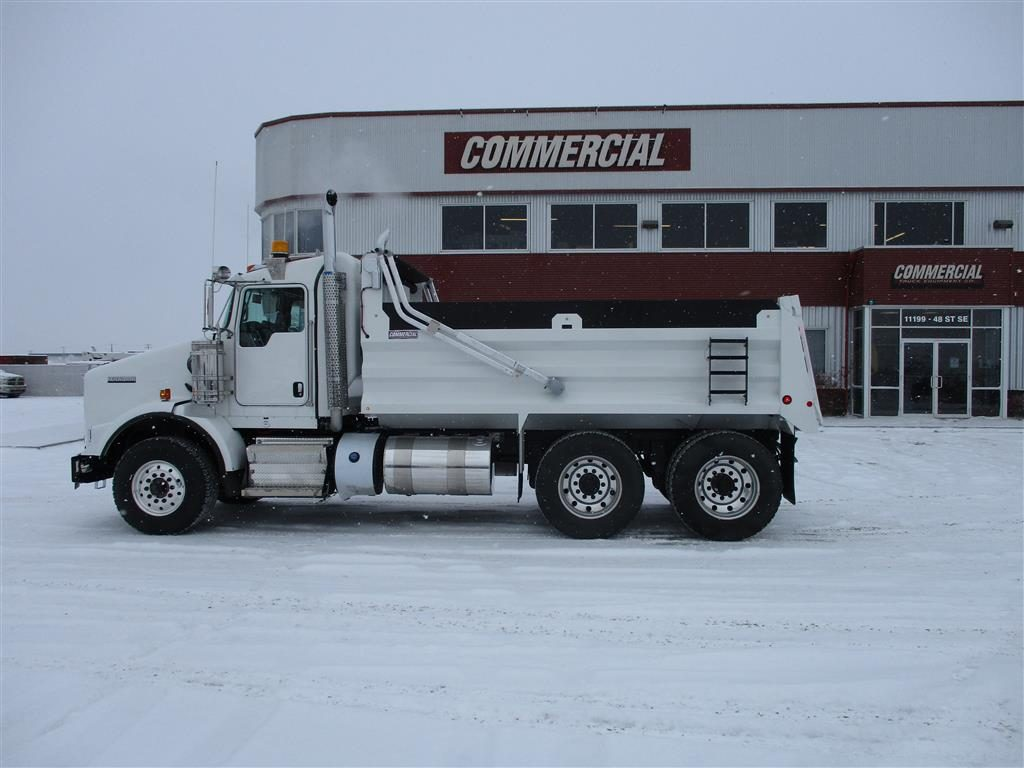 Renn 15′ HSSL Gravel Box on Kenworth T800