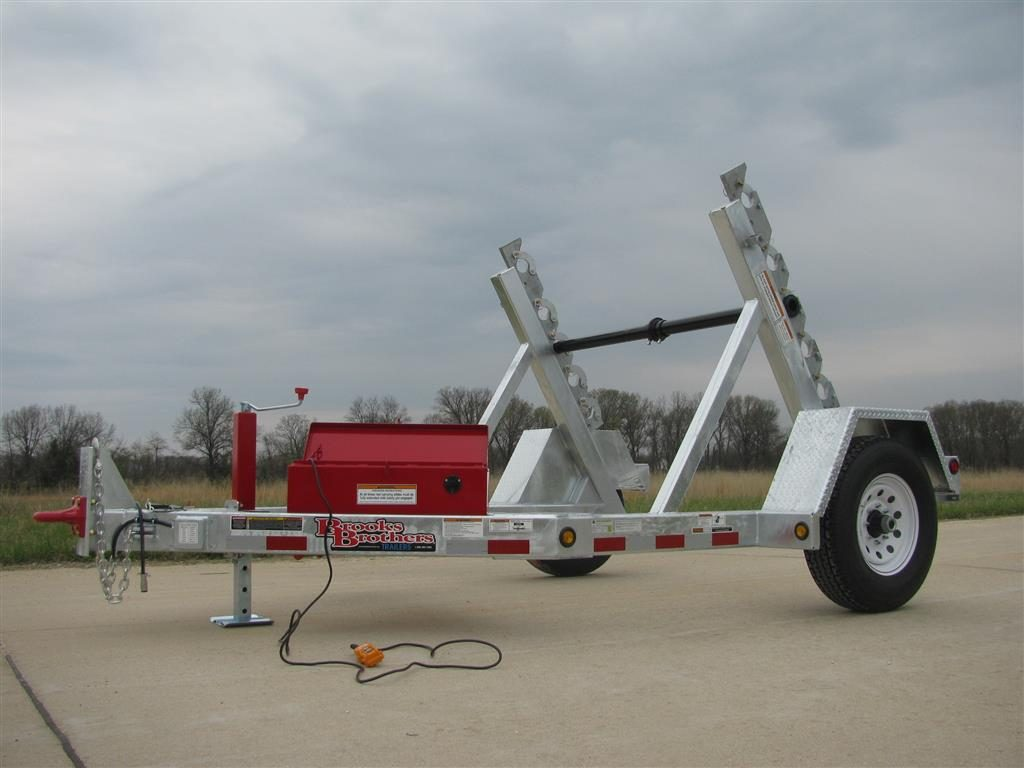 Brooks Brothers SLR 810-12V Reel Trailer