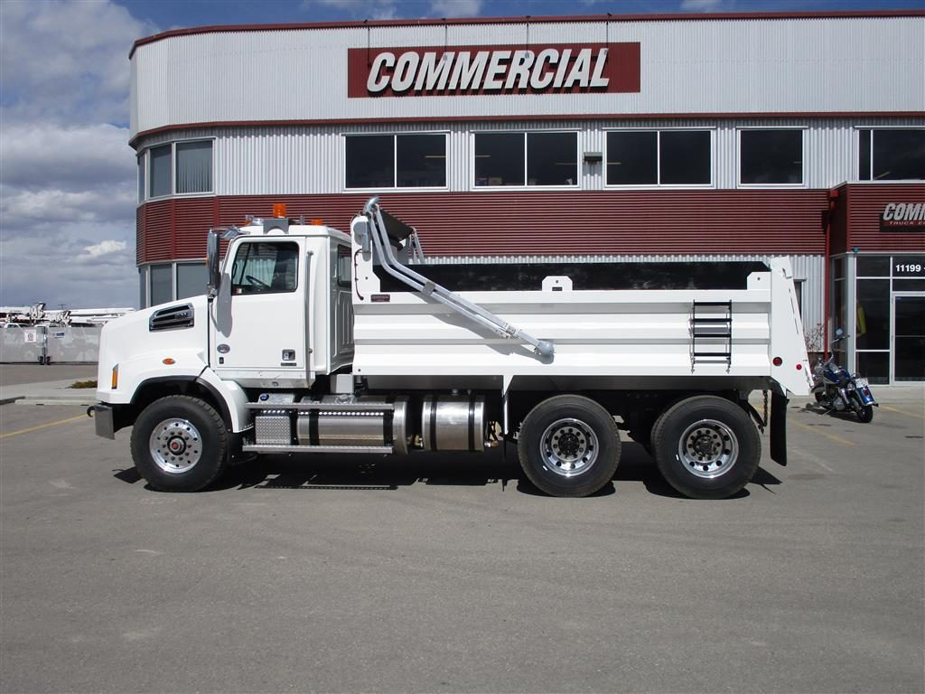 Renn 15′ HSSL Gravel Box on Western Star 4700SB