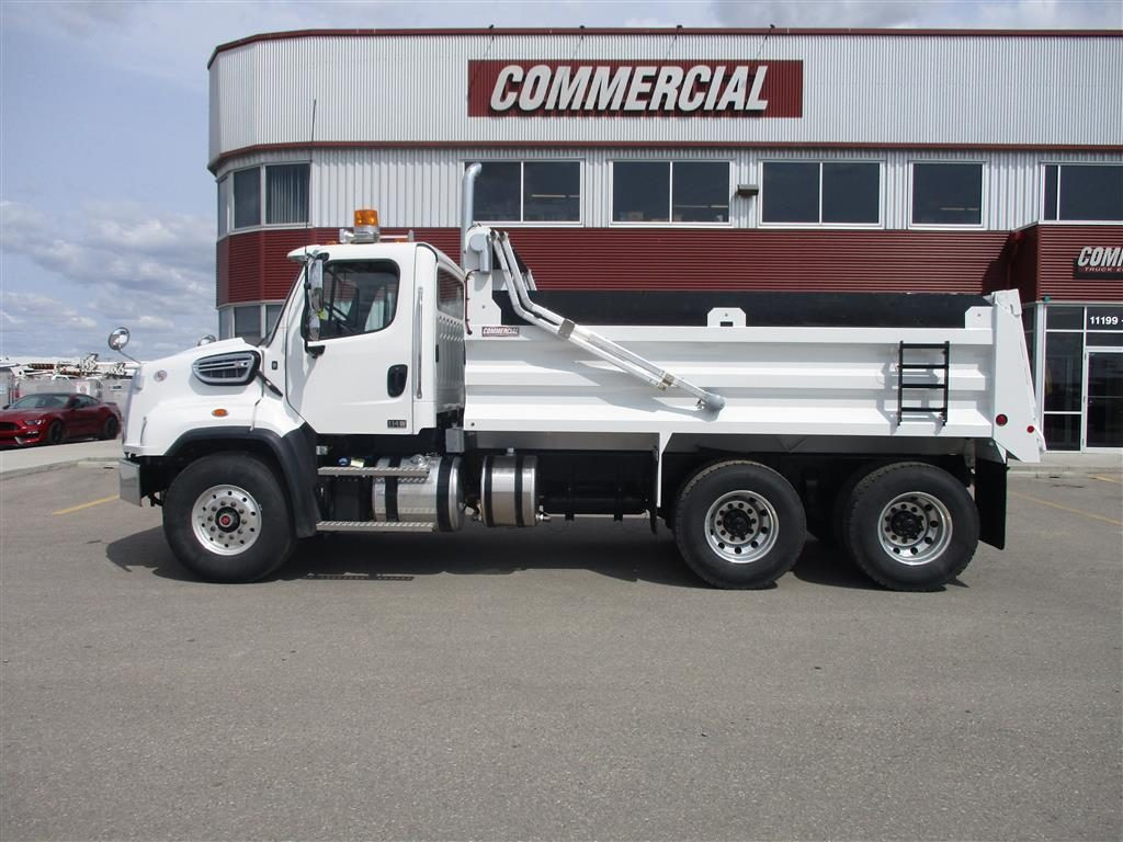 Renn 15′ HSSL Gravel Box on Freightliner 114SD