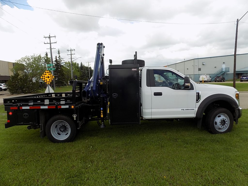 Oilfield Service Truck w/ Amco Veba 906N Crane on 2019 Ford F550