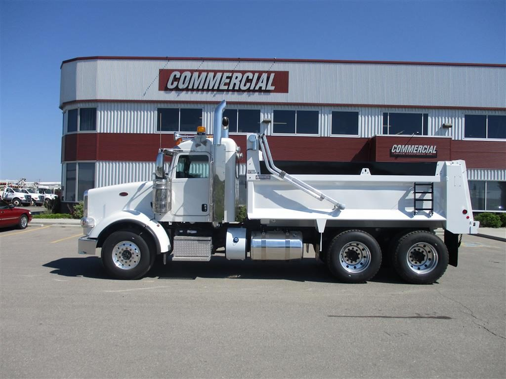 Bibeau BFL-S1503648 Gravel Box on Peterbilt 367