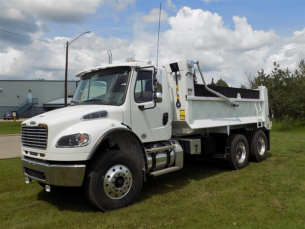 Bibeau 15′ MHD Gravel Box on Freightliner M2
