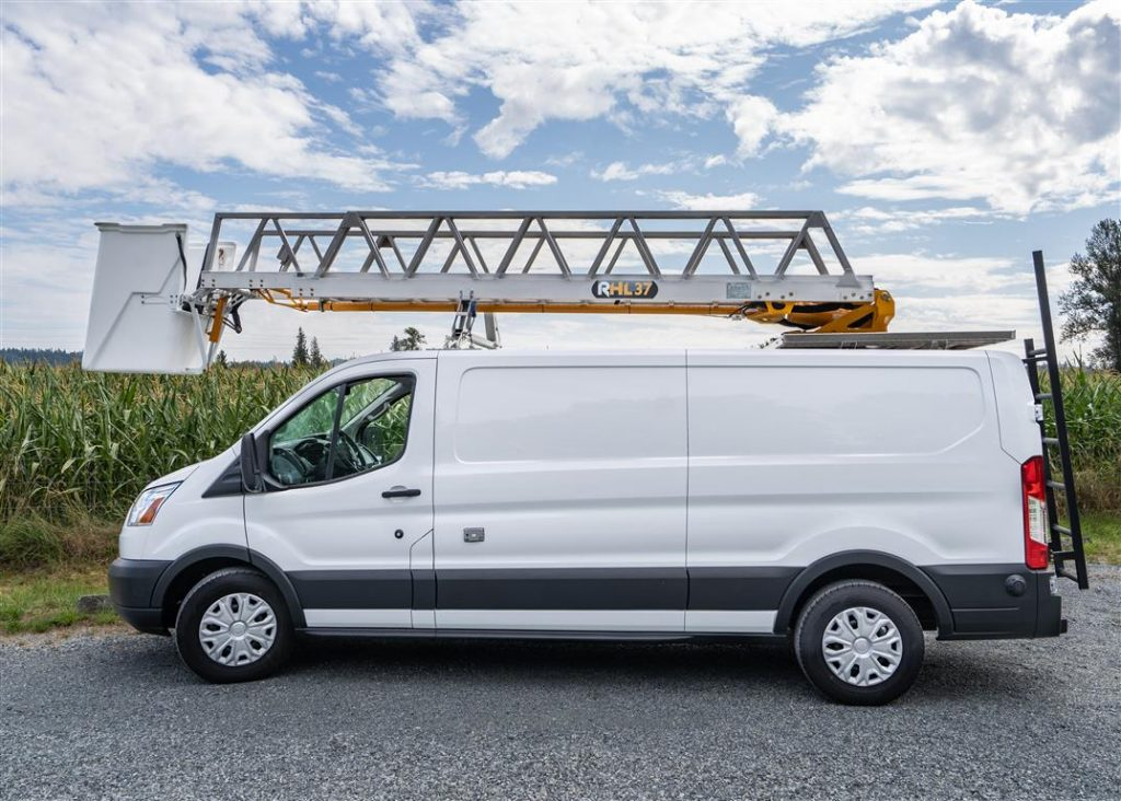 RHL37 Ladder on Ford Transit