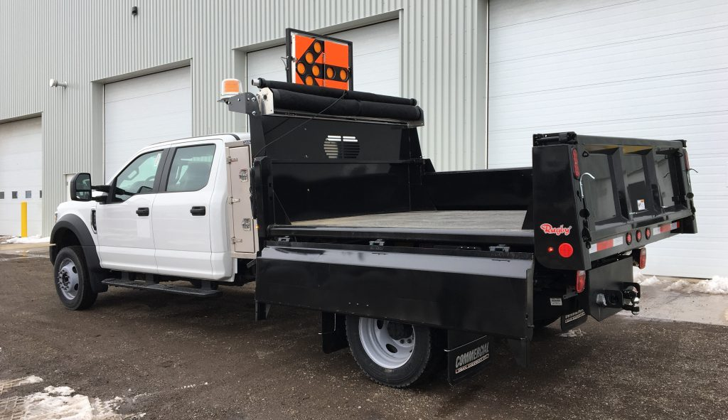 Rugby Dump Body on Ford F450