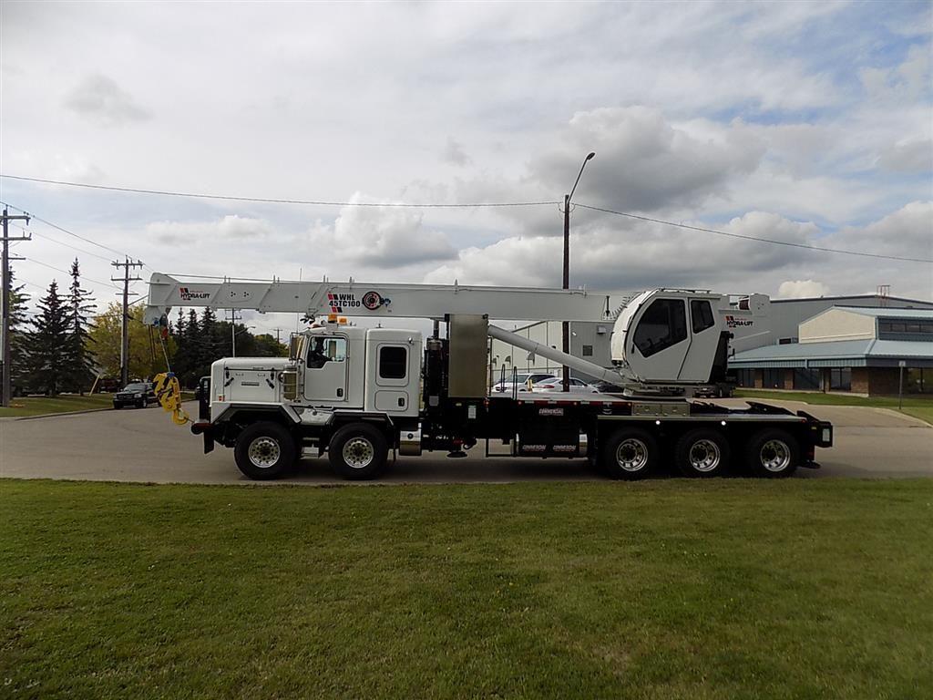 Weldco WHL45TC100 Crane on Kenworth C500