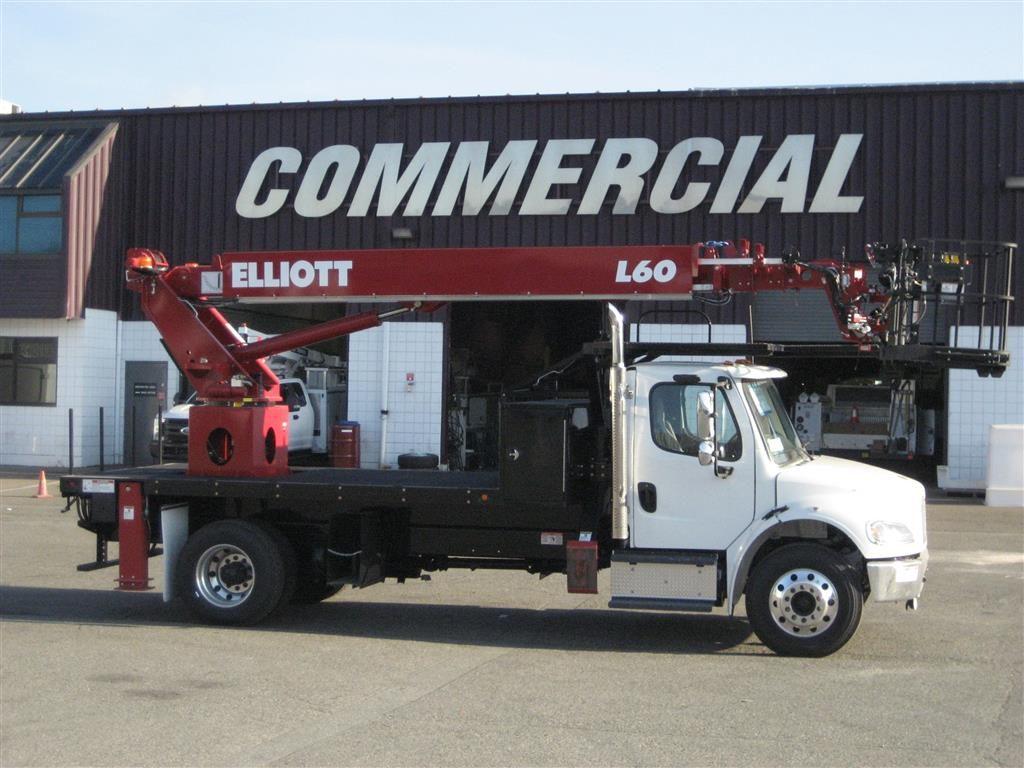 Work Ready Elliott HiReach L60R on Freightliner M2 106
