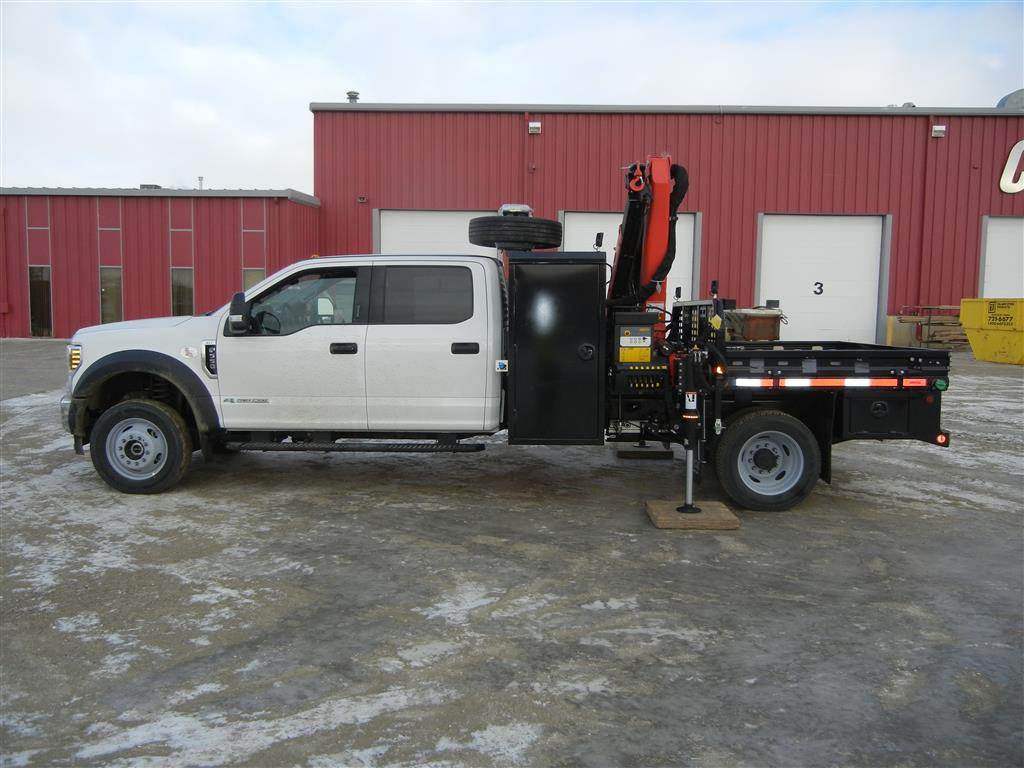 Palfinger PK 7.001 SLD3 on Ford F550 XLT Crew Cab