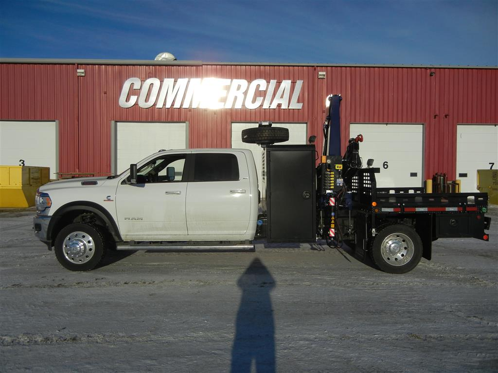 Amco Veba 906N Crane on 2019 Dodge Ram 5500 Crew Cab