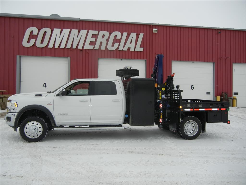 Amco Veba 906N Crane on Dodge Ram 5500 Crew Cab