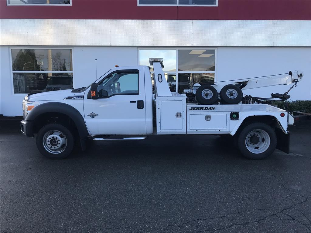 Jerr-Dan HPL35 on 2016 Ford F550 XLT 4×4