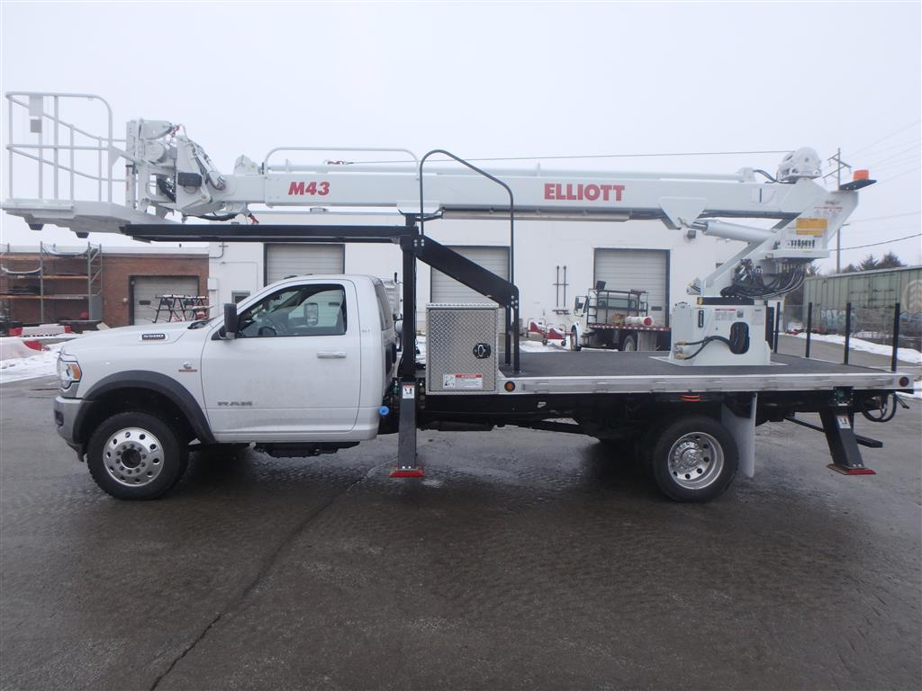 Elliott M43R SN on Ram 5500