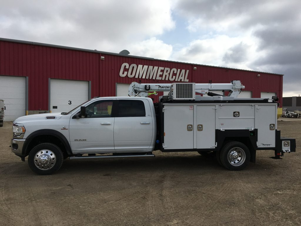 132″ Maintainer Service Body on 2019 Ram 5500