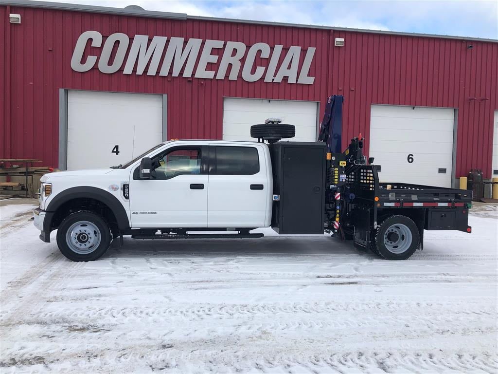 Amco Veba 906N-4S Crane on Ford F550 Crew Cab