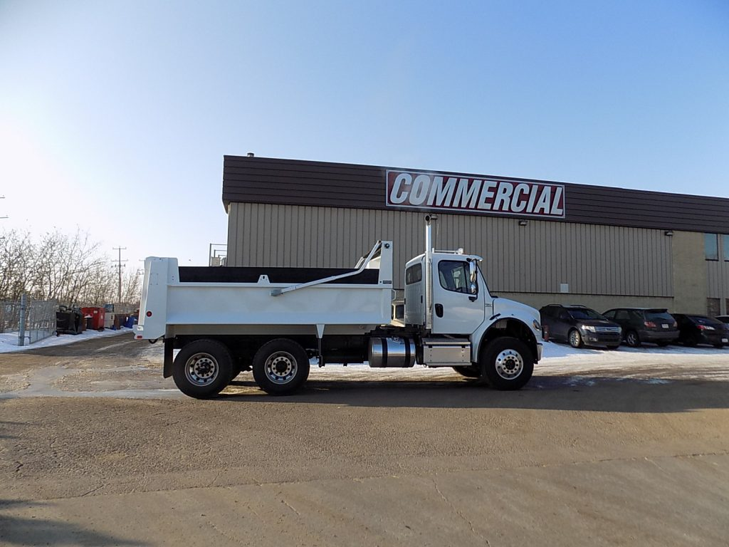 Bibeau MHD1503048 Gravel Box on Freightliner M2 106