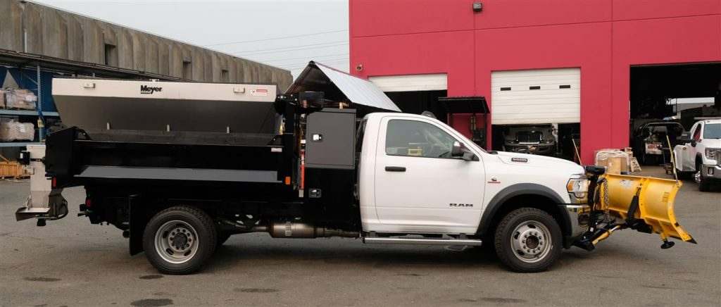Dump Box with Snow & Ice Equipment on Ram 5500 4×4