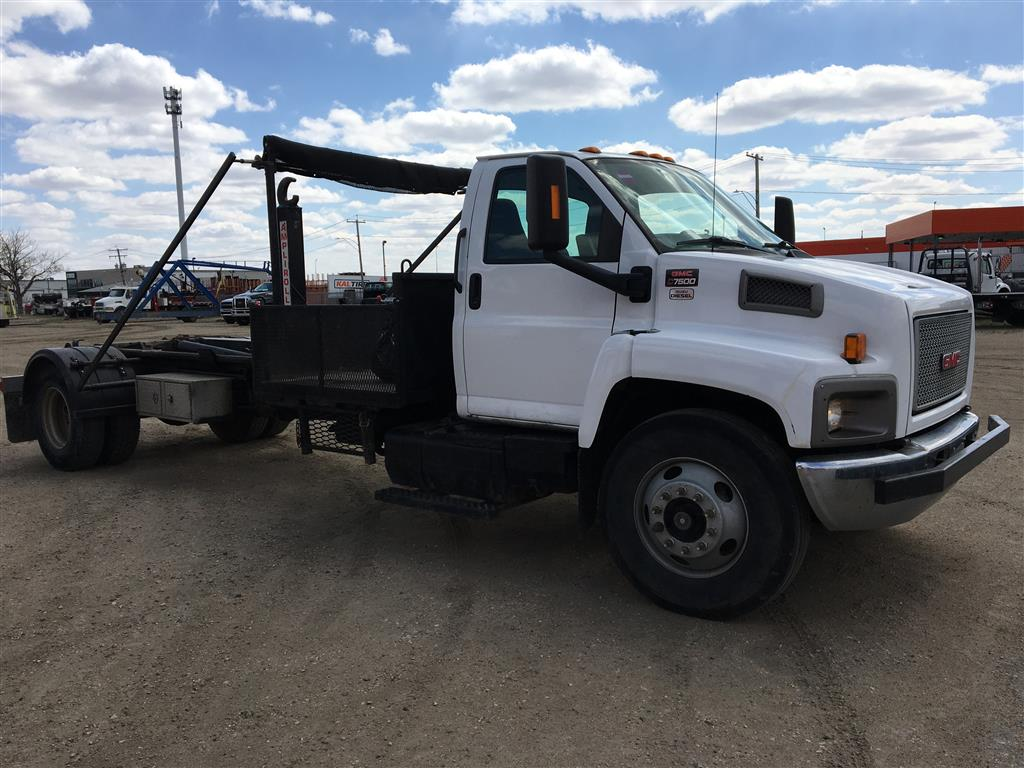 Ampliroll AL100L-1 Hooklift on 2008 GMC C7500