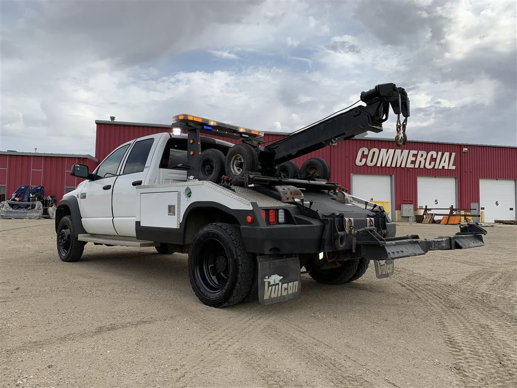 Vulcan 892 Wrecker on 2009 Dodge 5500 SLT